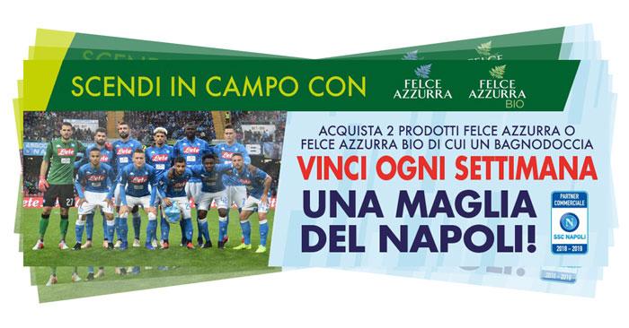 Felce Azzurra: vinci magliette SCC Napoli