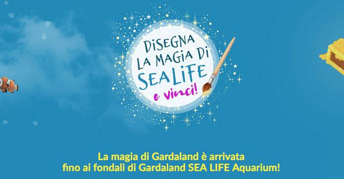 Gardaland: disegna la magia di Sealife e vinci!