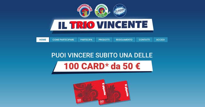 """""""Il trio vincente"""" Il gigante"""