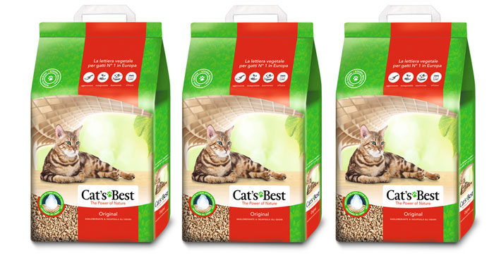 Lettiera Cat's Best: diventa tester