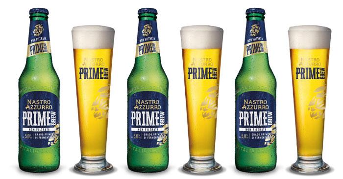 Nastro Azzurro Prime Brew ti regala il bicchiere del primo assaggio