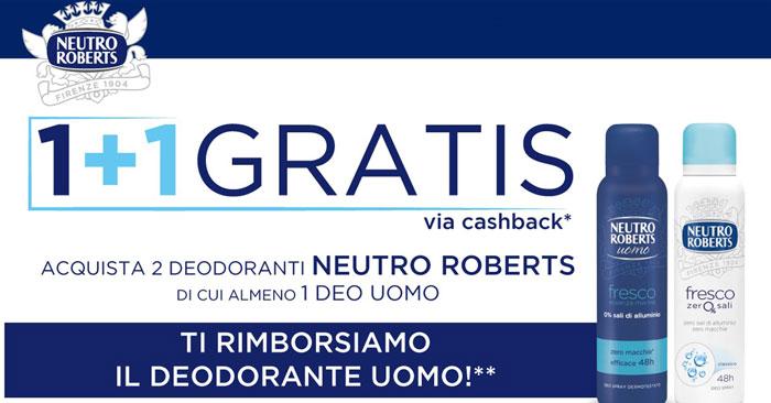 Neutro Roberts: il deodorante che ti premia