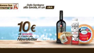 Nonna Isa: coupon da 10€ gratis!