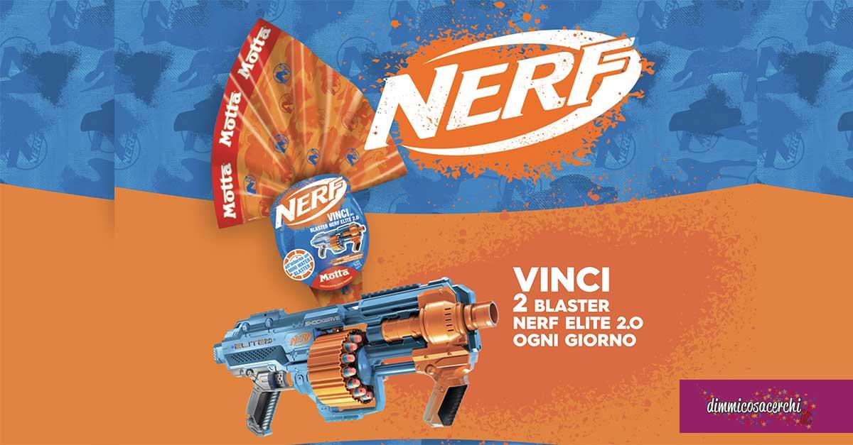 Pasqua Motta: vinci giochi Nerf