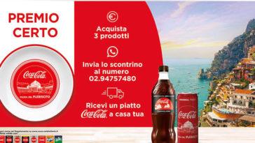 Piatto Coca‑Cola in regalo