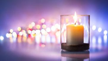 Porta candele: come togliere cera