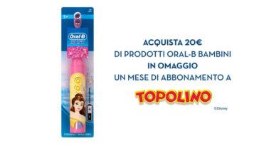 """Promozione """"OralB Kids – Topolino per te"""""""