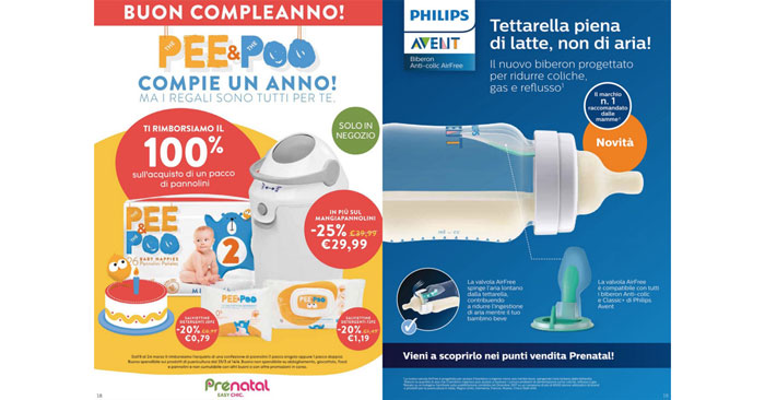 Promozione Prenatal The Pee&Poo