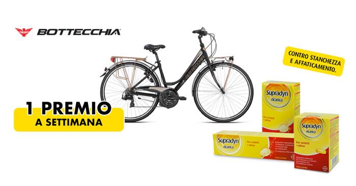 Supradyn Ricarica: vinci bicicletta Bottecchia