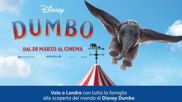 Tim Party: vinci viaggio a Londra Dumbo