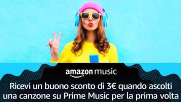 Buono sconto Amazon Music: come ottenerlo gratis!