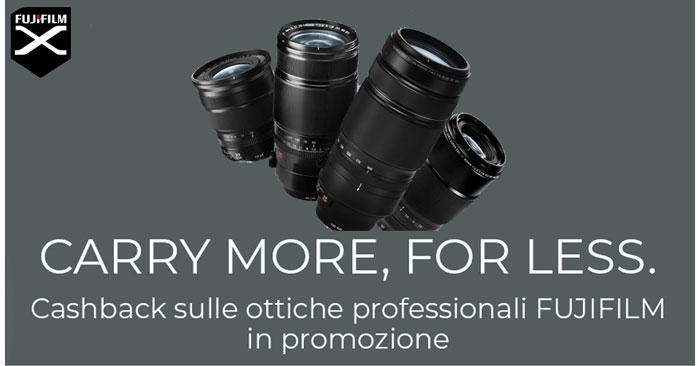 Cashback ottiche Fujifilm