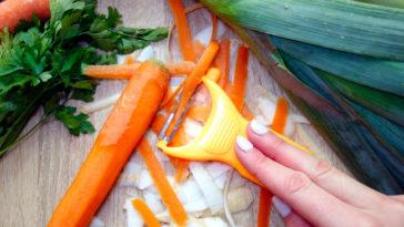 Come riciclare la bocca di carota