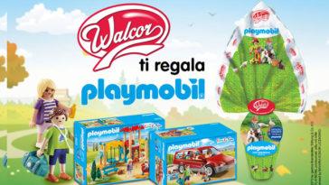 """Concorso di Pasqua """"Walcor ti regala Playmobil"""""""