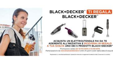 Black+Decker ti regala Black+Decker