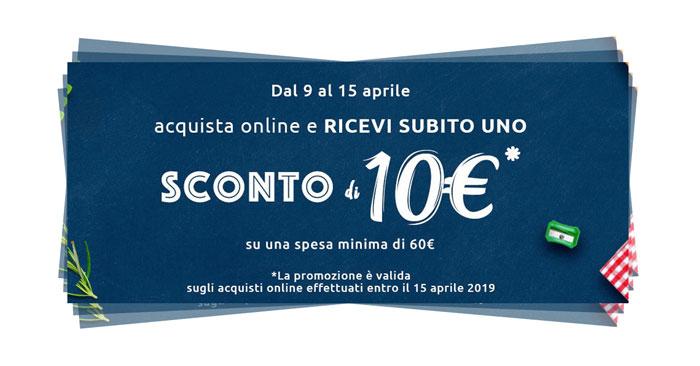 Buono sconto Carrefour online