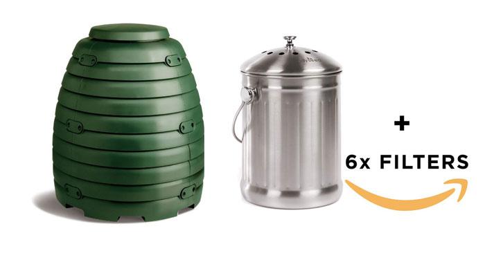 Compostiera per la casa
