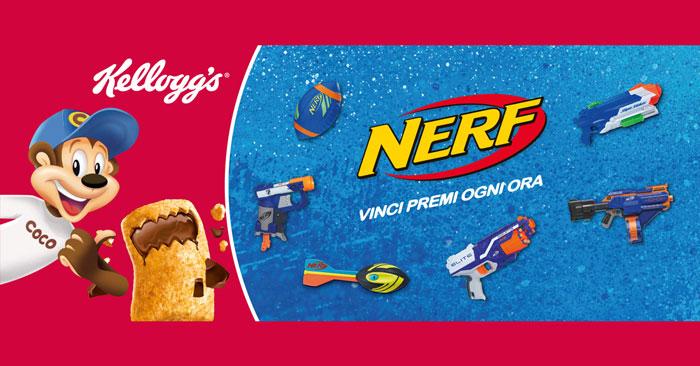 Con Kellogg's Krave: vinci premi Nerf