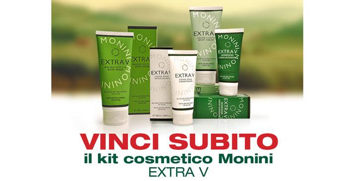 Concorso Monini: vinci cosmetici EXTRA V