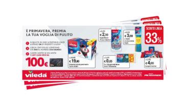 Concorso Vileda e Iper: vinci buoni spesa da 100€