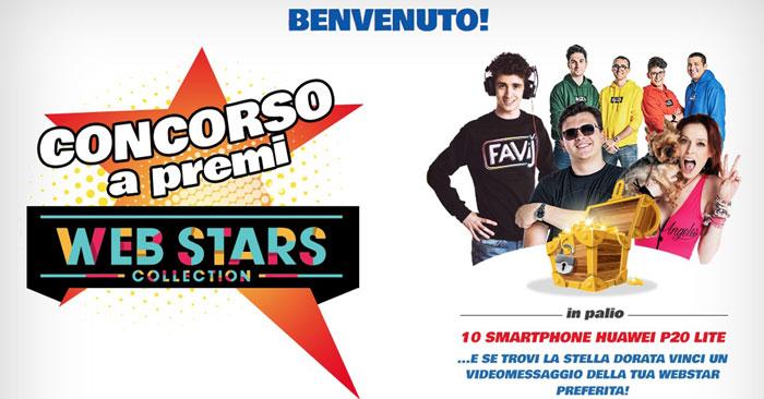 """Concorso """"Web star Collection"""