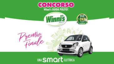 Concorso Winni's: in palio prodotti ed una Smart!
