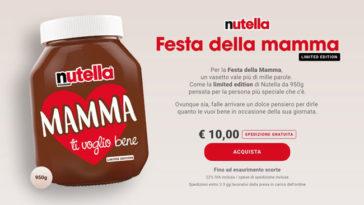 Festa della mamma Nutella