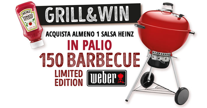 """Heinz: concorso """"Grill&Win"""""""