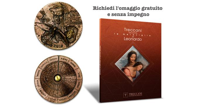 Libro Treccani racconta le meraviglie di Leonardo