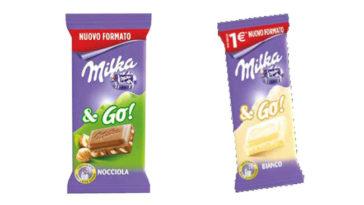 Milka & Go tavolette mini nel formato da 45gr