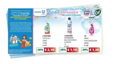 Primavera Cif&Lysoform: vinci forniture