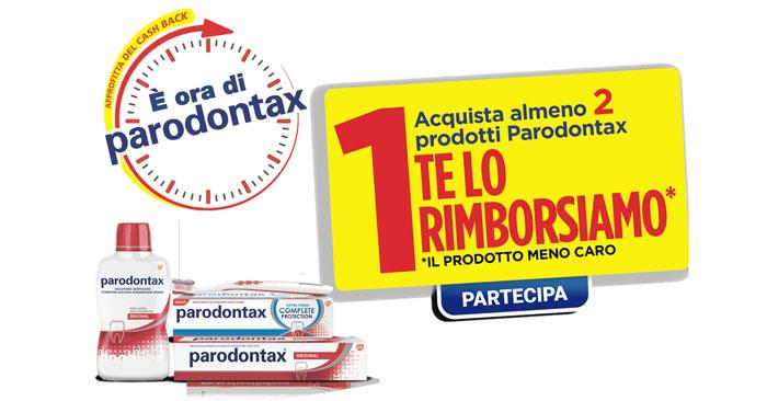 Prova Parodontax: ottieni il tuo rimborso