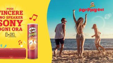 Pringles: vinci speaker Sony ogni ora
