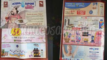 Volantino Acqua&Sapone dal 2 al 14 aprile