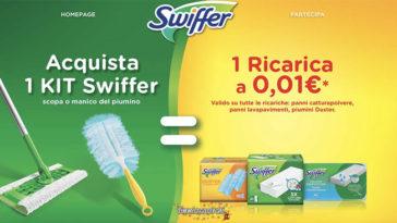 Swiffer ricarica 1 centesimo: ottieni il tuo rimborso