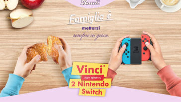 Bauli: vinci Nintendo Switch