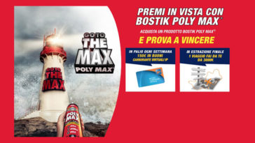 Bostik Poly Max: premi in vista