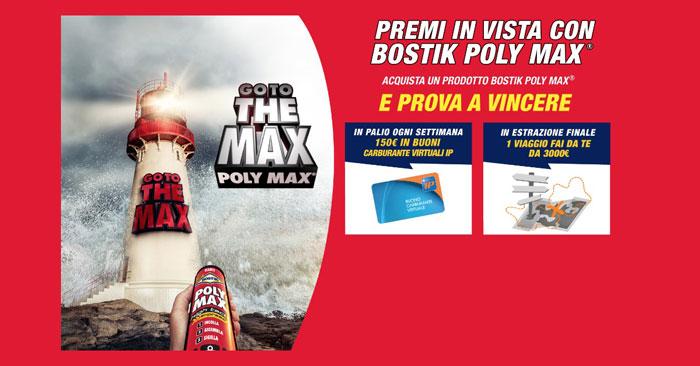 Bostik Poly Max: premi in vista