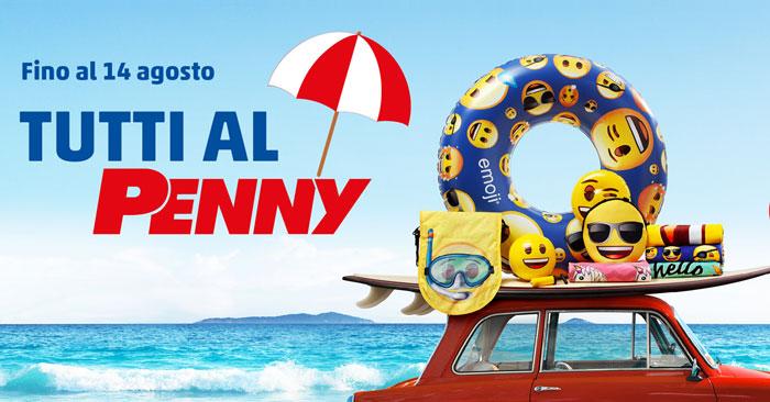 """Collezione """"Tutti al Penny emoji®"""""""