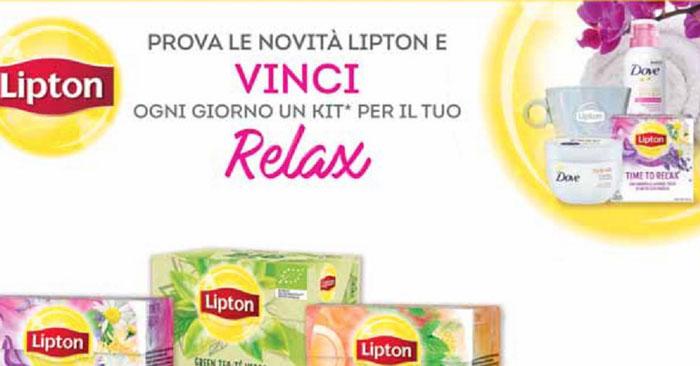 Concorso Lipton: vinci Kit benessere