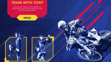 "Concorso Red bull ""Train with Tony"""