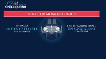 Concorso Sanpellegrino: Vinci 120 momenti unici!