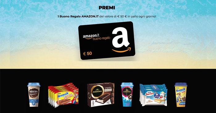 """Concorso """"Shake&Snack"""": vinci buoni Amazon!"""