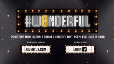 Concorso W8nderful Juventus
