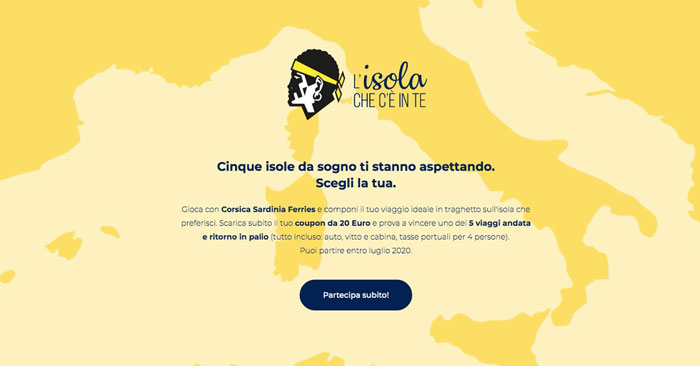 Corsica e Sardinia Ferries: concorso