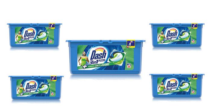 Diventa ambasciatore Dash Pods 3in1 Anti-Odore