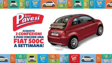 Gran Pavesi: vinci FIAT 500C