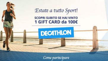 Il fiore che ti premia: vinci gift card Decathlon