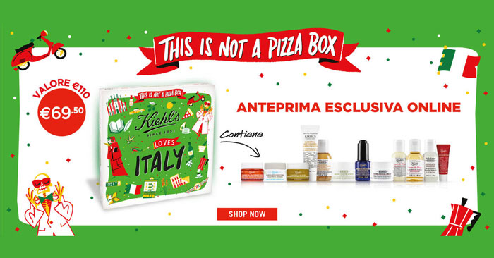 Kiehl's: This is not a Pizza Box
