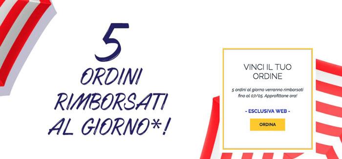 """L'Occitane: gioco """"Ordini rimborsati"""""""